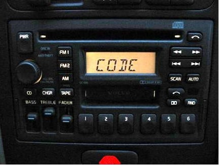 Volvo Radio Code