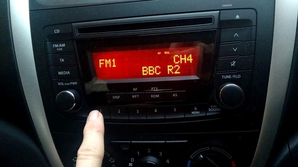 Unlock Suzuki Radio
